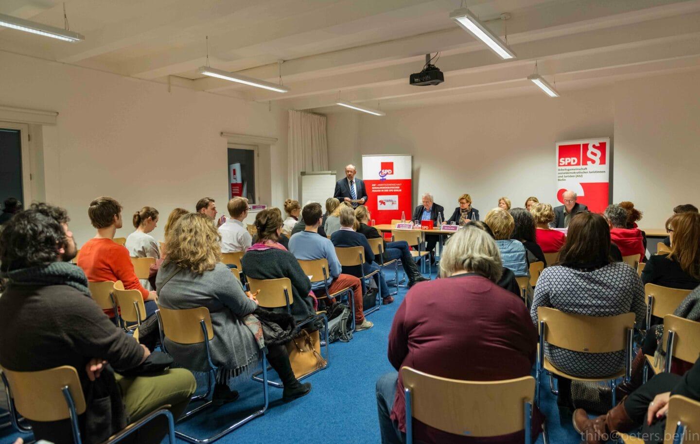 Veranstaltung der ASJ Berlin zum Internationalen Frauentag